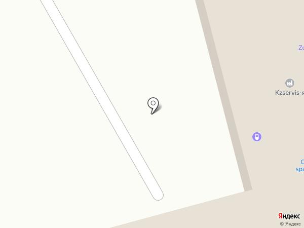 Спорт-бар на карте Караганды