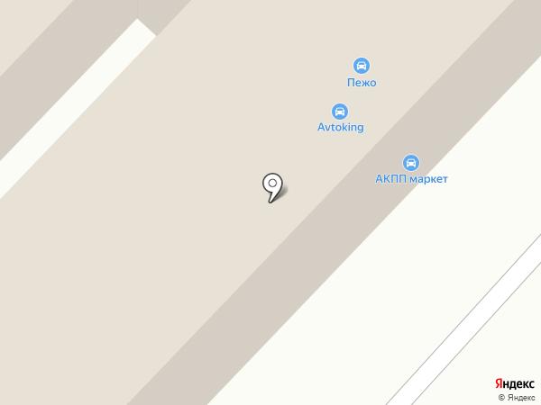 Автопилот на карте Караганды