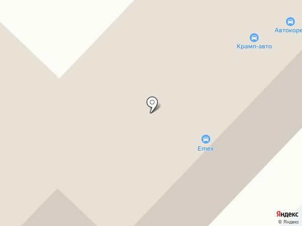 Авторадуга на карте Караганды