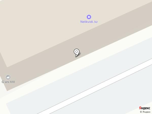 Автомаркет на карте Караганды