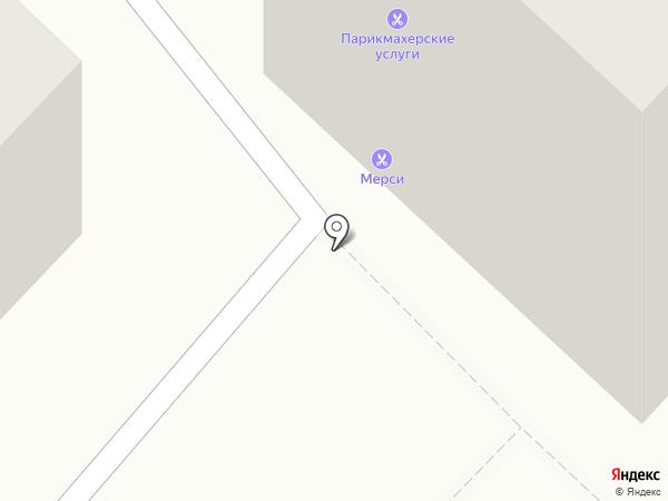 Мерси на карте Караганды