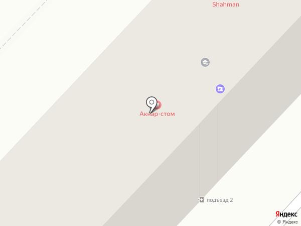Афина на карте Караганды