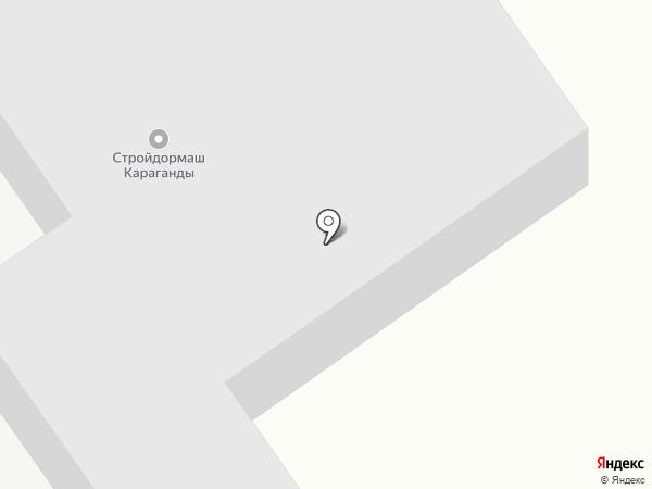 КарСпецСервис, ТОО на карте Караганды