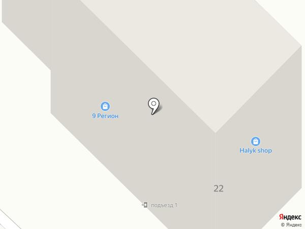 9 регион на карте Караганды