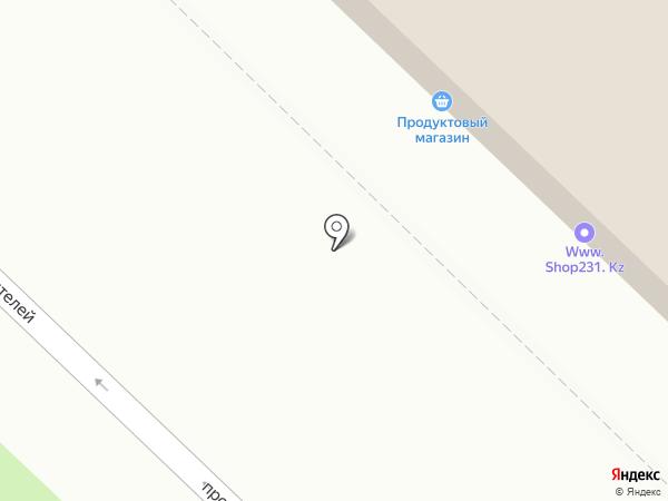 Ломбардия, ТОО на карте Караганды