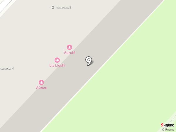 АЙЛИН на карте Караганды