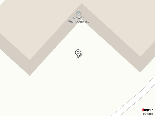 Максат, ТОО на карте Караганды