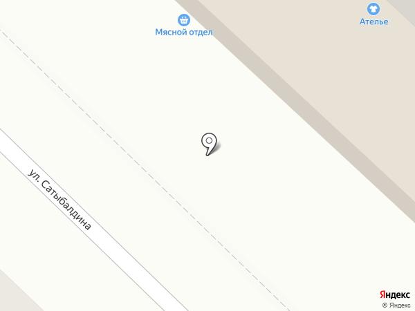 Барик на карте Караганды