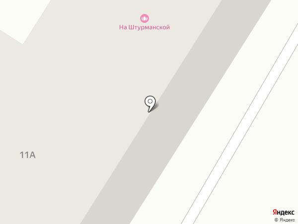 Гостиничный комплекс на карте Караганды
