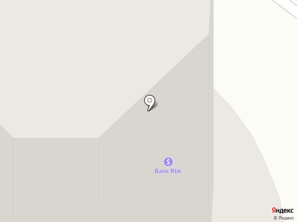 Шатер на карте Караганды