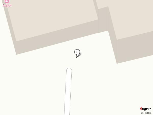 Ак жол на карте Караганды