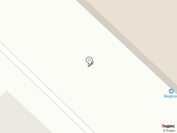 Ильяс на карте Караганды