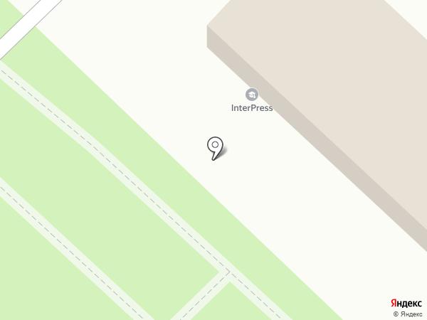 InterPress IH Karaganda, ТОО на карте Караганды