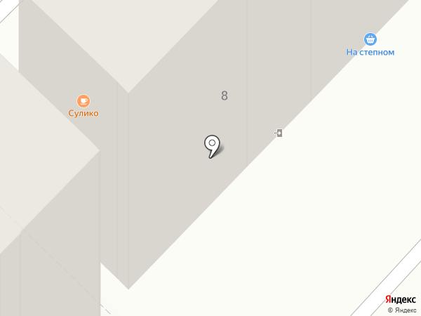Сулико на карте Караганды
