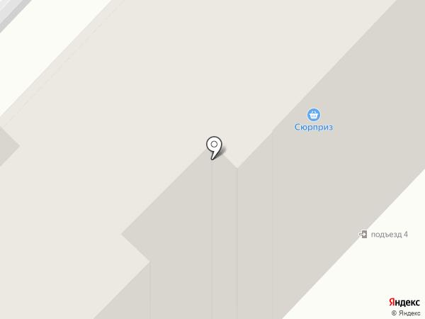 АДХ на карте Караганды
