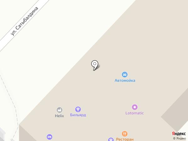 PZS на карте Караганды