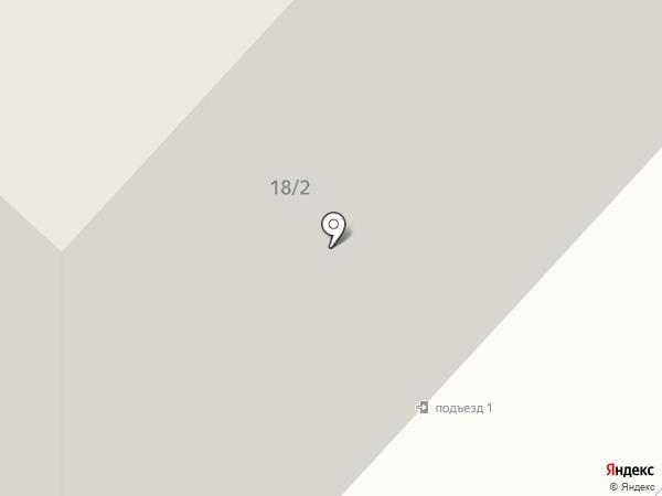 Высотник на карте Караганды