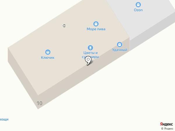 Продовольственный магазин на карте Горячего Ключа