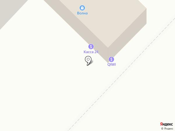 Волна на карте Караганды