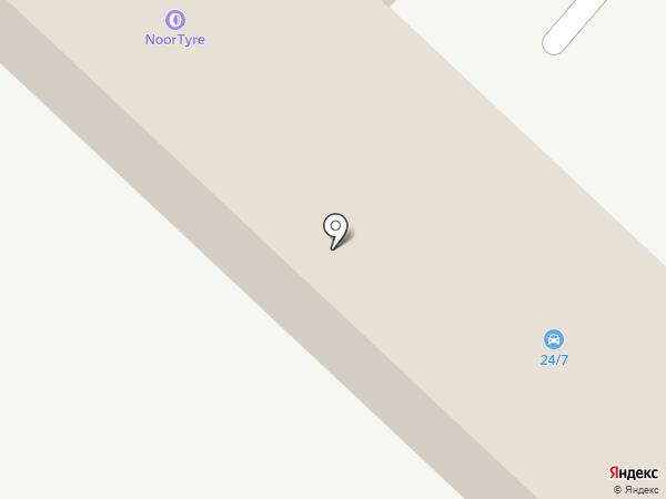 Горизонт на карте Караганды