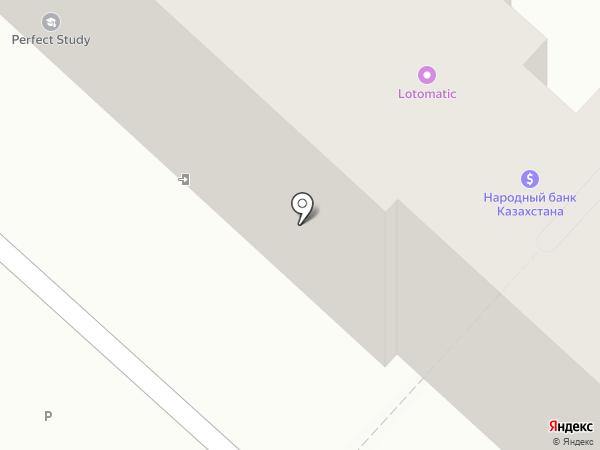 Цесна Гарант на карте Караганды