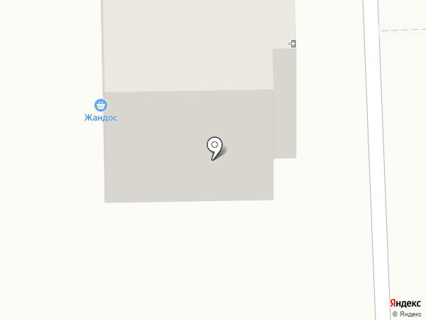 LORAN на карте Караганды