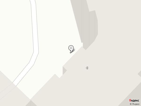 Аист на карте Караганды