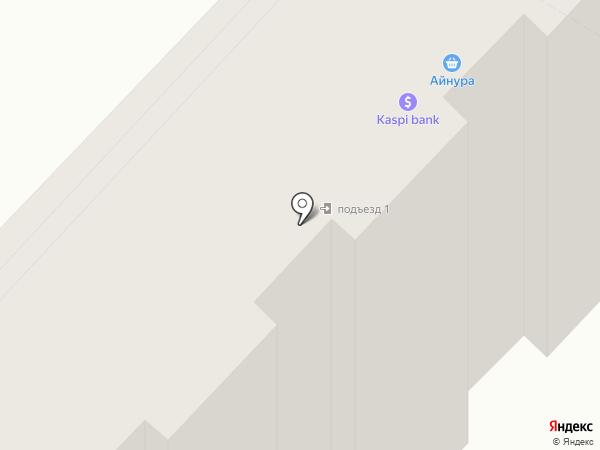 Асар на карте Караганды