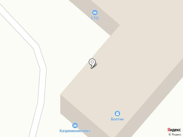 Rem Zona на карте Караганды