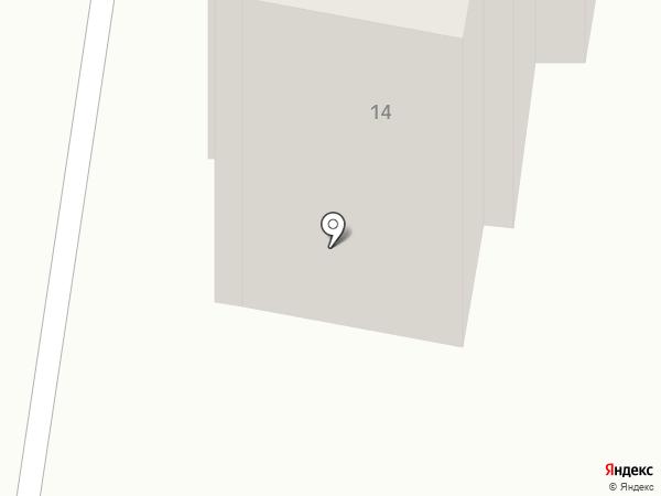 Пышка на карте Караганды