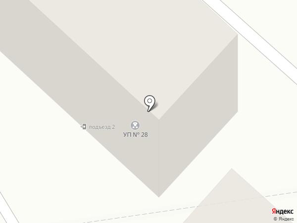 Участковый пункт полиции №28 на карте Караганды