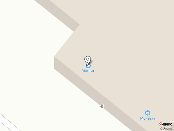 Магнит на карте Барсово