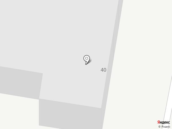 Карлада на карте Караганды