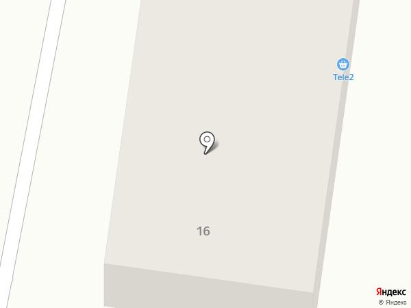 Тамыз на карте Караганды