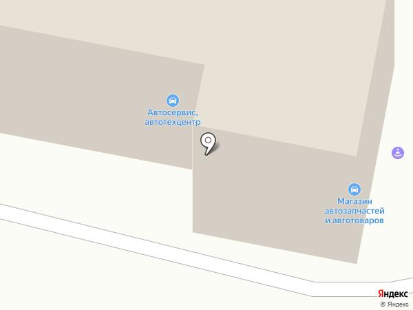Универсал на карте Караганды