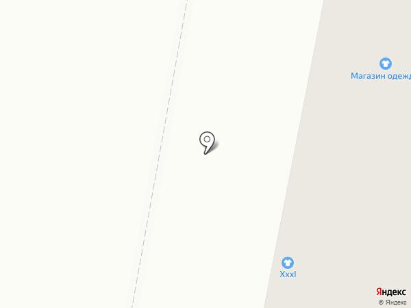 Асель на карте Караганды