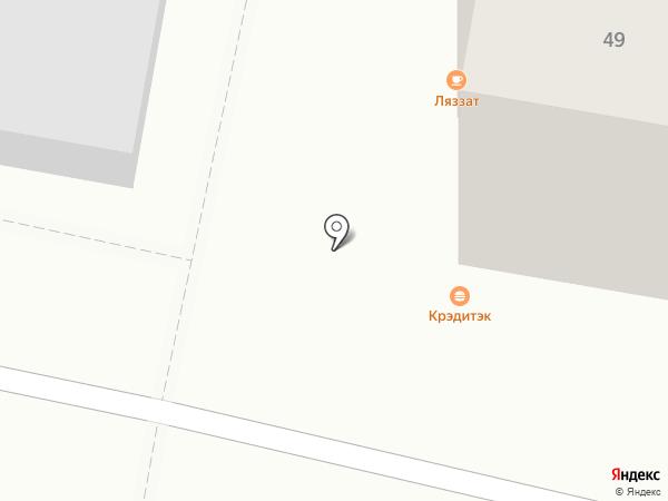Кредитэк, ТОО на карте Караганды