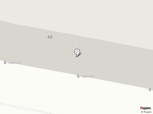 Участковый пункт полиции №25 на карте Караганды