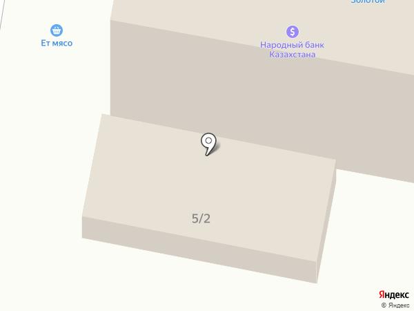 Бота на карте Караганды