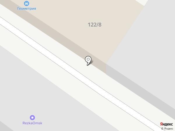 АвтоРай на карте Омска