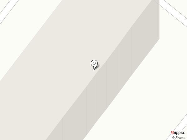 Ромашка на карте Караганды