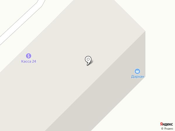 Дархан на карте Караганды