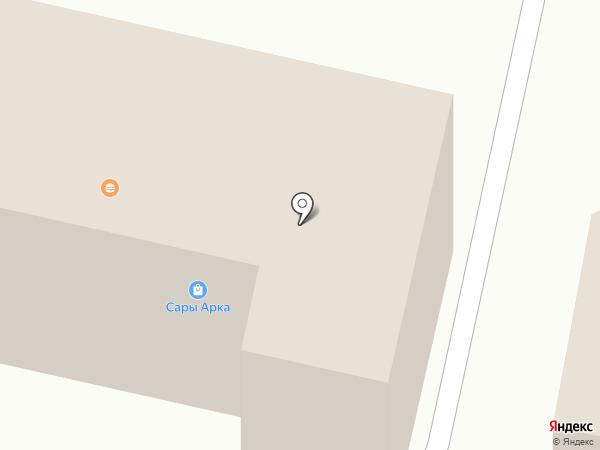 Сәма донер кебаб на карте Караганды