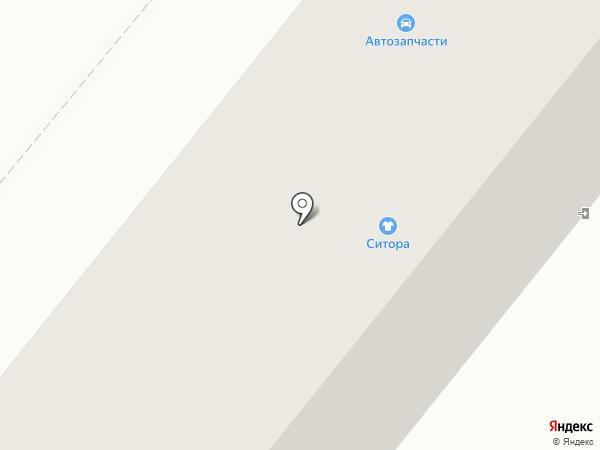 Анна на карте Караганды
