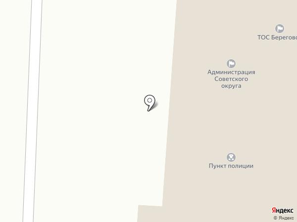 Север-58 на карте Омска