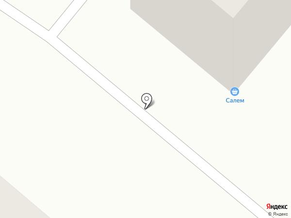 Салем на карте Караганды
