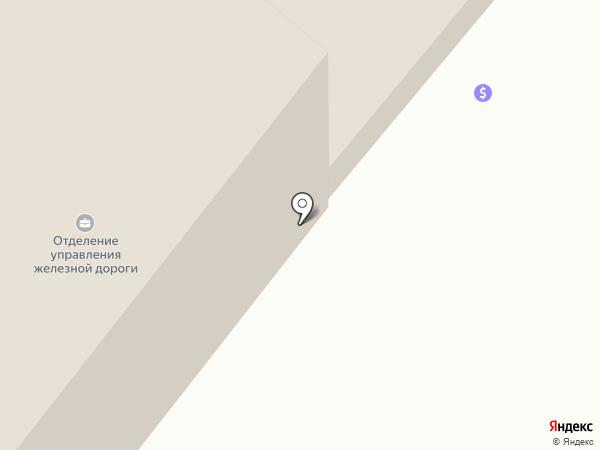 Карагандинское отделение железной дороги на карте Караганды