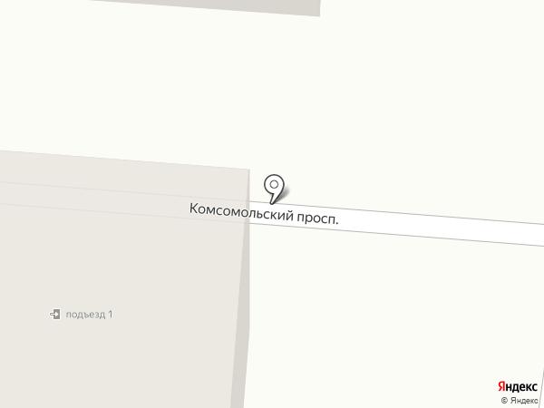 Омичка на карте Омска