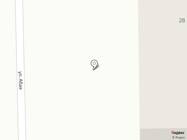 Әсия на карте Уштобе
