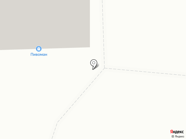Пинта на карте Омска